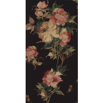 Tapetti 1838 Wallcoverings Madama Butterfly, musta, 0,52x10,05m