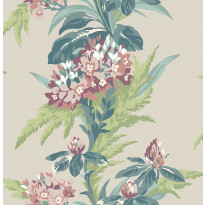 Tapetti 1838 Wallcoverings Aurora, vaalea, 0,52x10,05m
