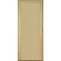 Saunan ovi Prosauna Hiili, 9x19, mänty