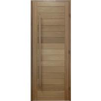 Saunan ovi Prosauna Naava, 9x19, lämpökäsitelty haapa