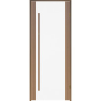 Saunan ovi Prosauna Sarastus, 7x19, kirkas lasi, tuija