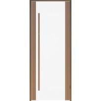 Saunan ovi Prosauna Sarastus, 9x19, kirkas lasi, tuija