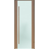 Saunan ovi Prosauna Sarastus, 8x19, etsattu lasi, tuija