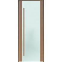 Saunan ovi Prosauna Sarastus, 9x19, etsattu lasi, tuija