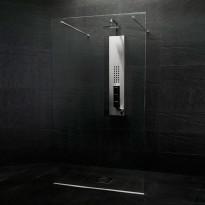 Suihkuseinä Westerbergs Clear, 1350mm, kirkas