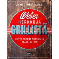 Keittokirja Weber Herkkuja grillistä, kovakantinen