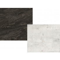 Välitilan laminaatti Westag & Getalit AG, Valkoinen betoni / Musta liuske, 4100x660x3 mm