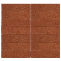 Julkisivutiili Wienerberger MRT 75, 285x85x75mm, punainen, karhea