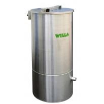 Harmaavesisuodatin Willa sis. suodatinpussi + suodatinmassa Top 16 2x15kg