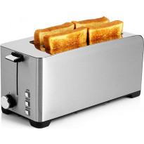 Leivänpaahdin Wilfa Brunch TOL-1400S, 1400W, 4 leivälle, teräs