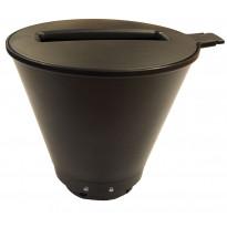Suodatinosa Wilfa WSO-1 Svart Optimal kahvinkeittimiin