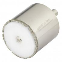 """Timanttipinnotteinen reikäsahanterä """"Ceramic"""", ø53mm, leikkaussyvyys 45mm"""