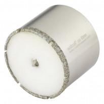 """Timanttipinnotteinen reikäsahanterä """"Ceramic"""", ø65mm, leikkaussyvyys 45mm"""
