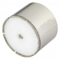 """Timanttipinnotteinen reikäsahanterä """"Ceramic"""", ø68mm, leikkaussyvyys 45mm"""