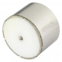 """Timanttipinnotteinen reikäsahanterä """"Ceramic"""", ø74mm, leikkaussyvyys 45mm"""