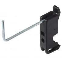 Työkalukoukku reikätauluun Wolfcraft, 60mm, 10 kpl/pkt