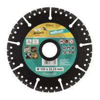 Timanttilaikka Wolfcraft 8336000 Pro Multi, 125mm