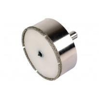 """Timanttipinnotteinen reikäsahanterä """"Ceramic"""", ø68mm, leikkaussyvyys 25mm"""