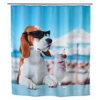 Tekstiilisuihkuverho Wenko Cool Dog