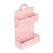Kori ripustettava Wenko Adria 21x9x32 cm roosa