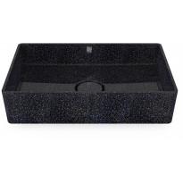 Pesuallas Woodio Cube60 Char, 600x400mm, musta