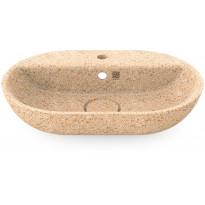 Pesuallas Woodio Soft60 Natural, 600x400mm, hanareikä, puu