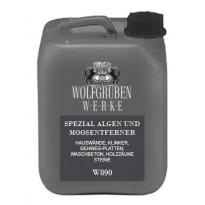 Levän ja sammaleen poistoaine Wolfgruben Werke W890, 10L