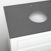 20071274 - Allaskaapin taso Westerbergs 1010x462x12mm silestone harmaa
