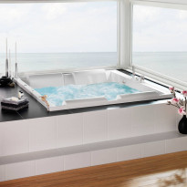 Poreamme Westerbergs Pacific 180SQ Comfort 2.0 + lämmitin + booster