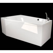 Kylpyamme Westerbergs Motion 160R 2.0, akryyli, valkoinen, oikea