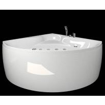 Kylpyamme Westerbergs Ocean 130C 2.0, akryyli, valkoinen