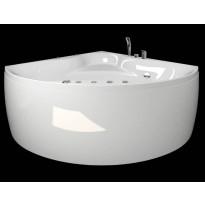 Kylpyamme Westerbergs Ocean 150C 2.0, akryyli, valkoinen