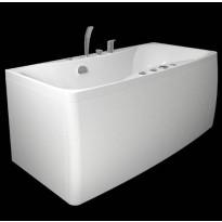 Kylpyamme Westerbergs Ocean 150SQ 2.0, akryyli, valkoinen
