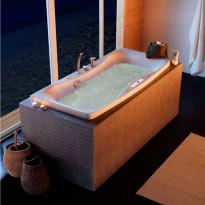 Poreamme Westerbergs Ocean 160SQ Comfort 2.0, akryyli, valkoinen