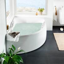 Poreamme Westerbergs Ocean 170L Duo Executive 2.0, akryyli, valkoinen, vasen