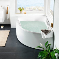 Poreamme Westerbergs Ocean 170R Duo Comfort 2.0, akryyli, valkoinen, oikea