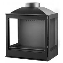 Takkasydän Warma-Uunit KFD ECO LUX 5260 LR, 11 kW, 75-380 m³