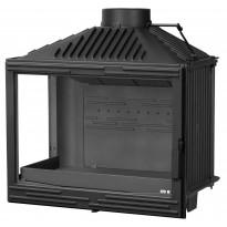 Takkasydän Warma-Uunit KFD ECO MAX 5270 L/R, 12 kW, 220-380 m³