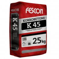 Korrobetoni Fescon K 45 max raekoko 3,0 mm 25 kg säkki