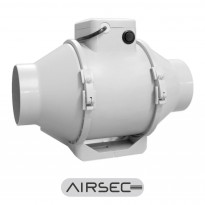Kanavapuhallin Airsec TTPa, 125mm