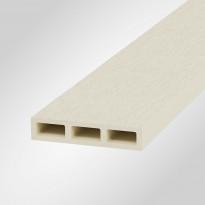 Aitalauta Onewood puukomposiitti, 100x20x4200mm, valkoinen