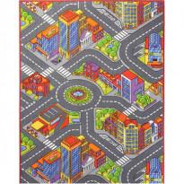 Lastenhuoneen matto Big City, eri kokoja