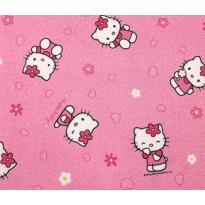 Lastenhuoneen matto Hello Kitty, eri kokoja