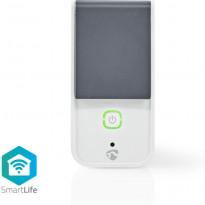 Älypistorasia ulkokäyttöön Nedis Wi-Fi Smart WIFIPO120FWT, IP44