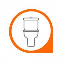 WC-istuimen asennus