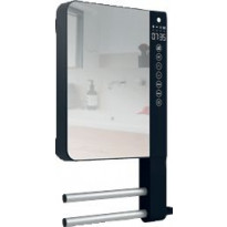 Puhallinpatteri Atlantic Telia 1800W, kuivaustelineillä, peili