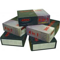 RT-Housupaketti 4-1 Atex (sisältää Mustat housut + riipputaskut + vyö + polvisuojat + Hi-Vis t-paita ), 3420, musta/Hi-Vis keltainen