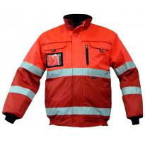 Talvitakki Atex Hi-Vis 4822, punainen/punainen
