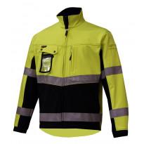 Softshell takki Atex 7605, Hi-Vis keltainen/musta