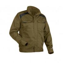 Takki 4054, khaki/musta, 65% polyesteri/35% puuvilla 240 g/m²